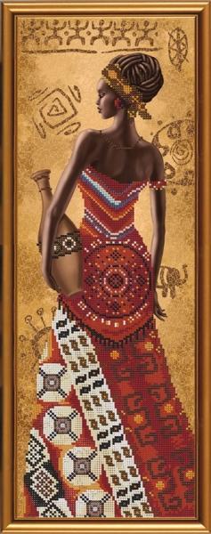 Африканка със стомна