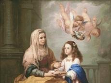 СВ. АННА И ДЕВА МАРИЯ