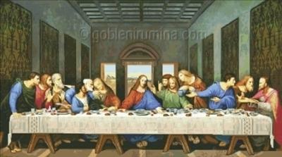 ТАЙНА ВЕЧЕРЯ -худ.Леонардо да Винчи