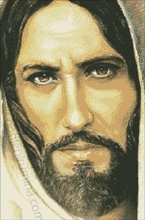 14а. ИСУС ПОГЛЕД