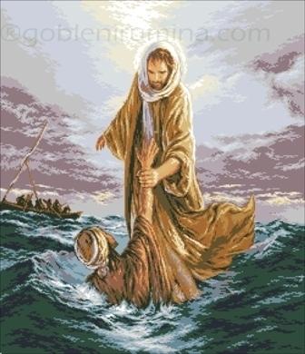 685. ИСУС СПАСЯВА ПЕТЪР