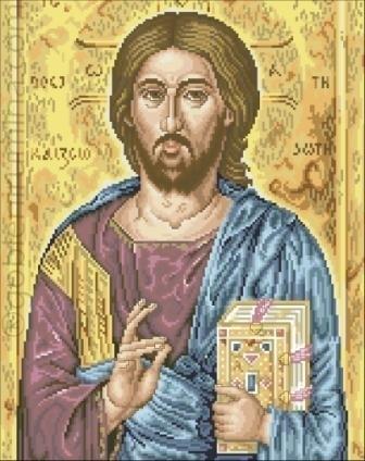 686. ХРИСТОС С ЕВАНГЕЛИЕ